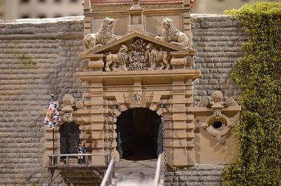 8. Oktober 1806 Napoleon inspiziert Schloss Rosenberg