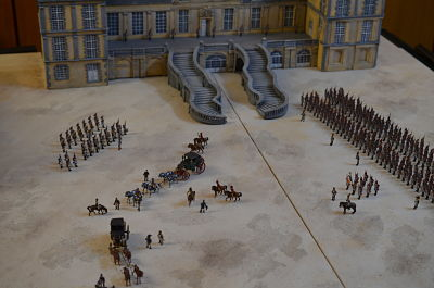 20. April 1814 Abschied in Fontainebleau  1:72