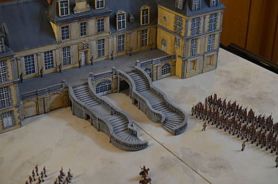 20. April 1814 1:72 Abschied in Fontainebleau
