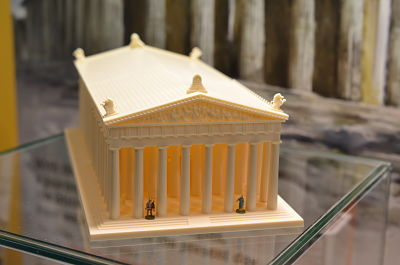 Italeri: Parthenon de  l'Acropolis de la Serie 'World Architecture'