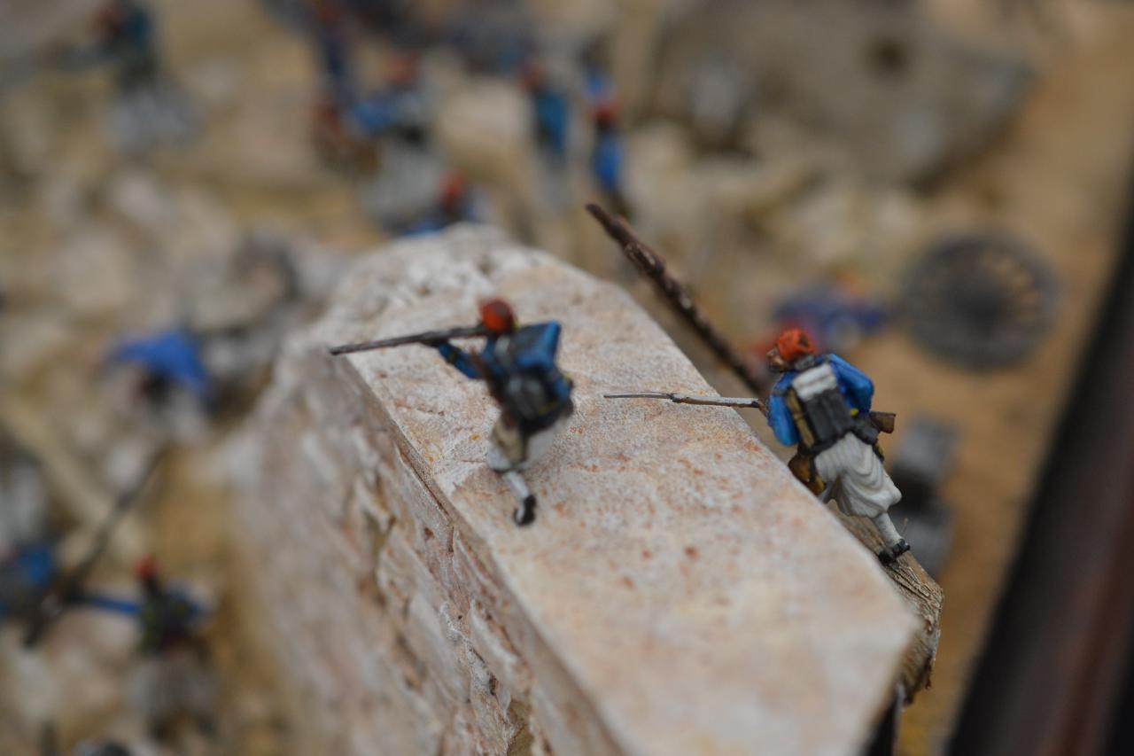La bataille de Wissembourg le 4 août 1870,Assaut de la porte de Landau