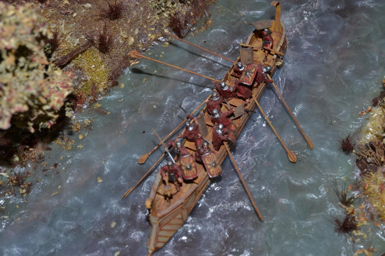Grenzfluss 1/72,Patrouille fluviale à la limite de l'Empire 1/72