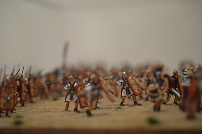 The Roman Legion in battle 1/72