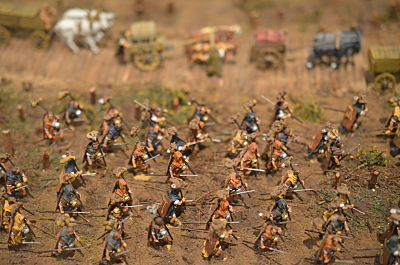 Roman Legion on  the marche 1/72