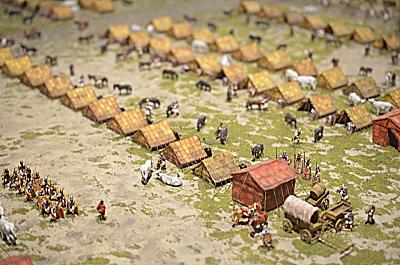 Campement de marche Romain au 1/72