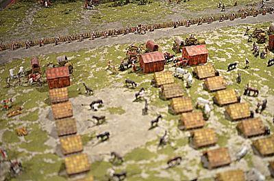 Römisches Marsch Lager in 1/72