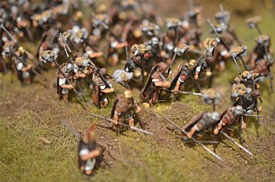 Roman Legion on  the marche 1/72