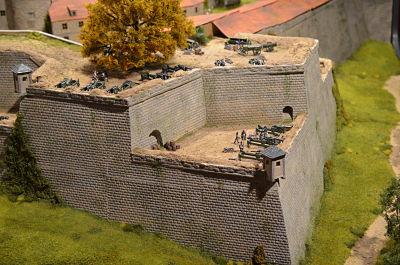 8 October 1806 Napoleon inspects Rosenberg