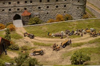 8 Octobre 1806 Napoléon inspecte Rosenberg