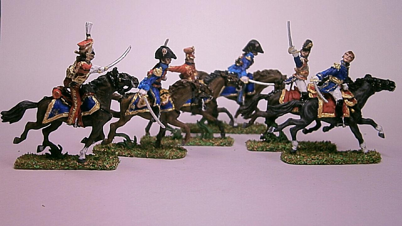 AP102M - Ney Staff Charge At Waterloo 1/72
