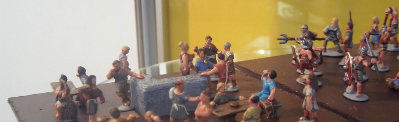 Vie Romaine au 1/72 Linear b