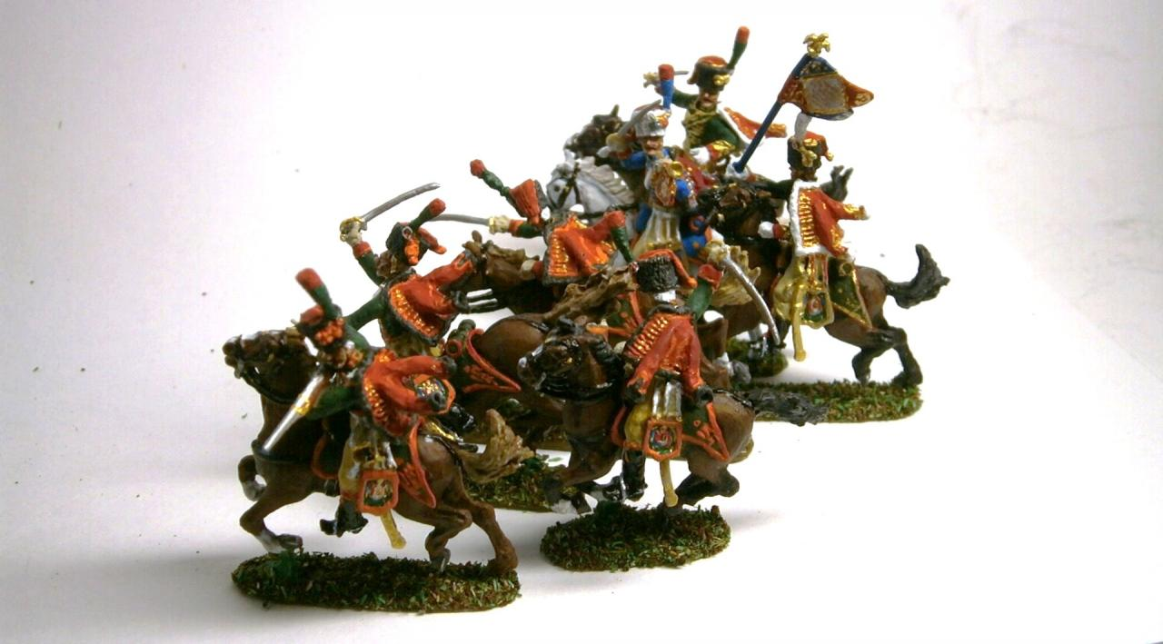 MC010 Chasseurs à cheval de la Garde Impériale au 1/72