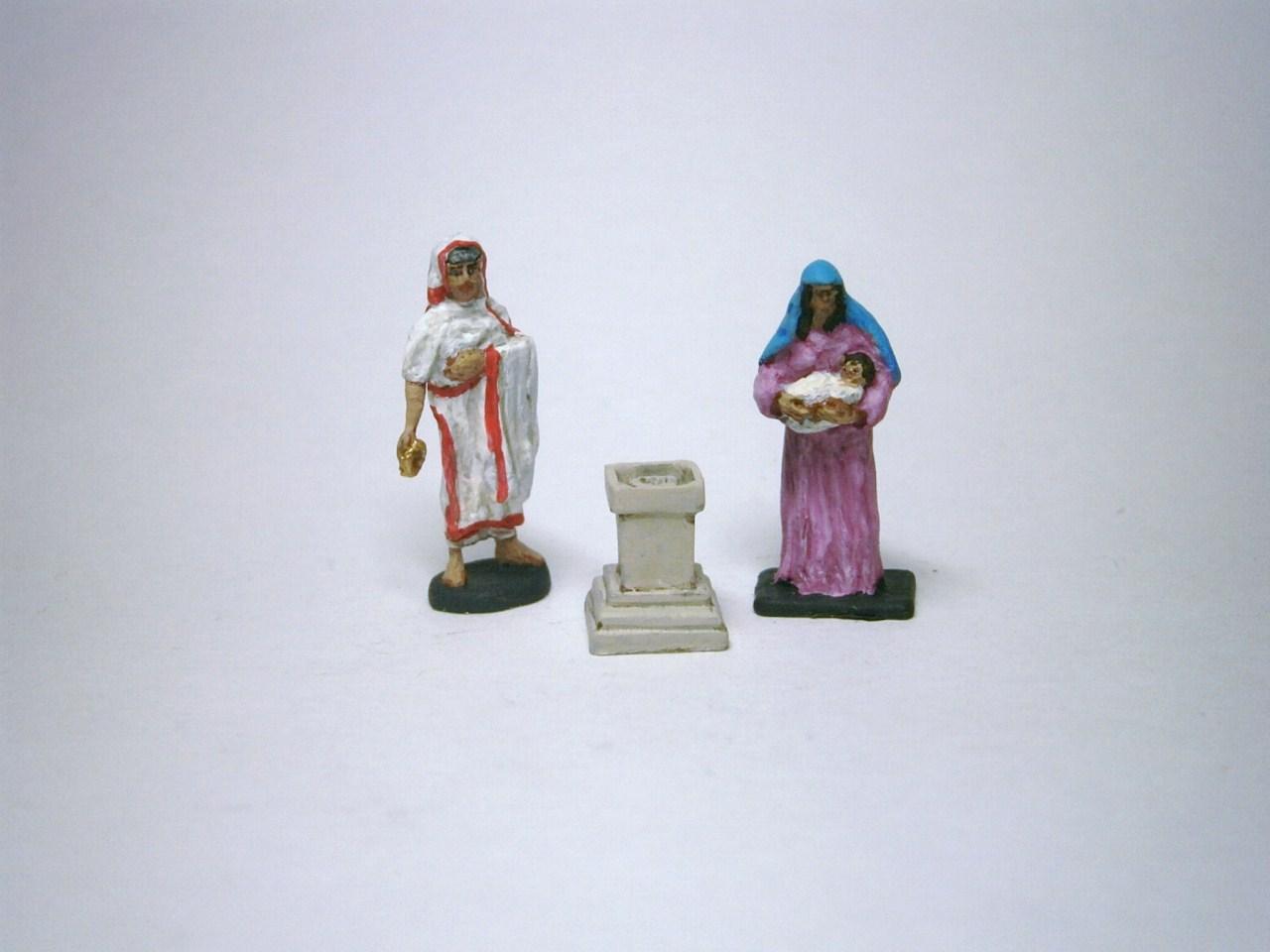 AR44 Roman religious worship