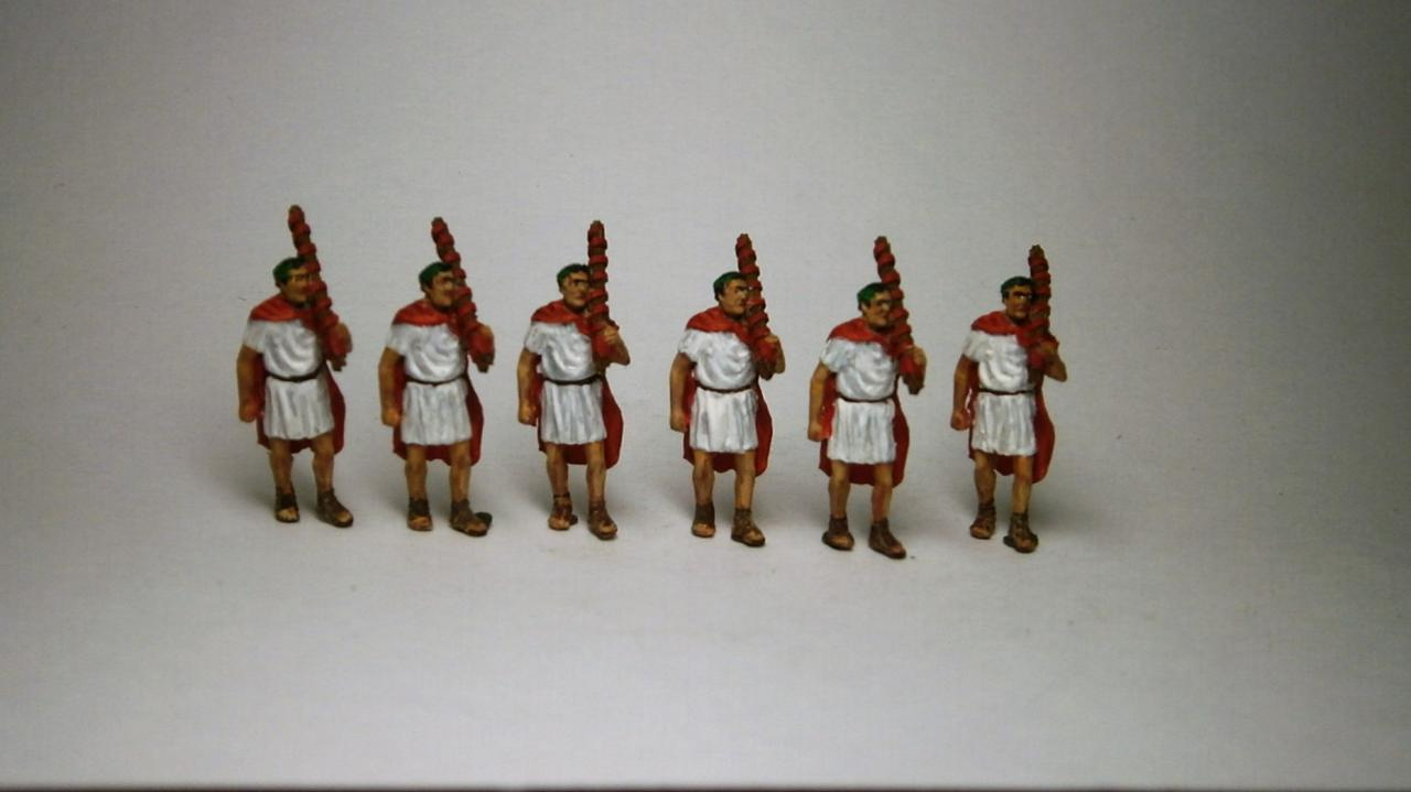 72-1002 - Set 2 6x figures lecturers 1/72