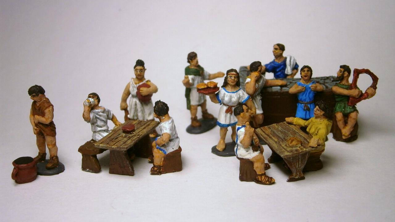 003 - Roman Tavern 1/72 linear b