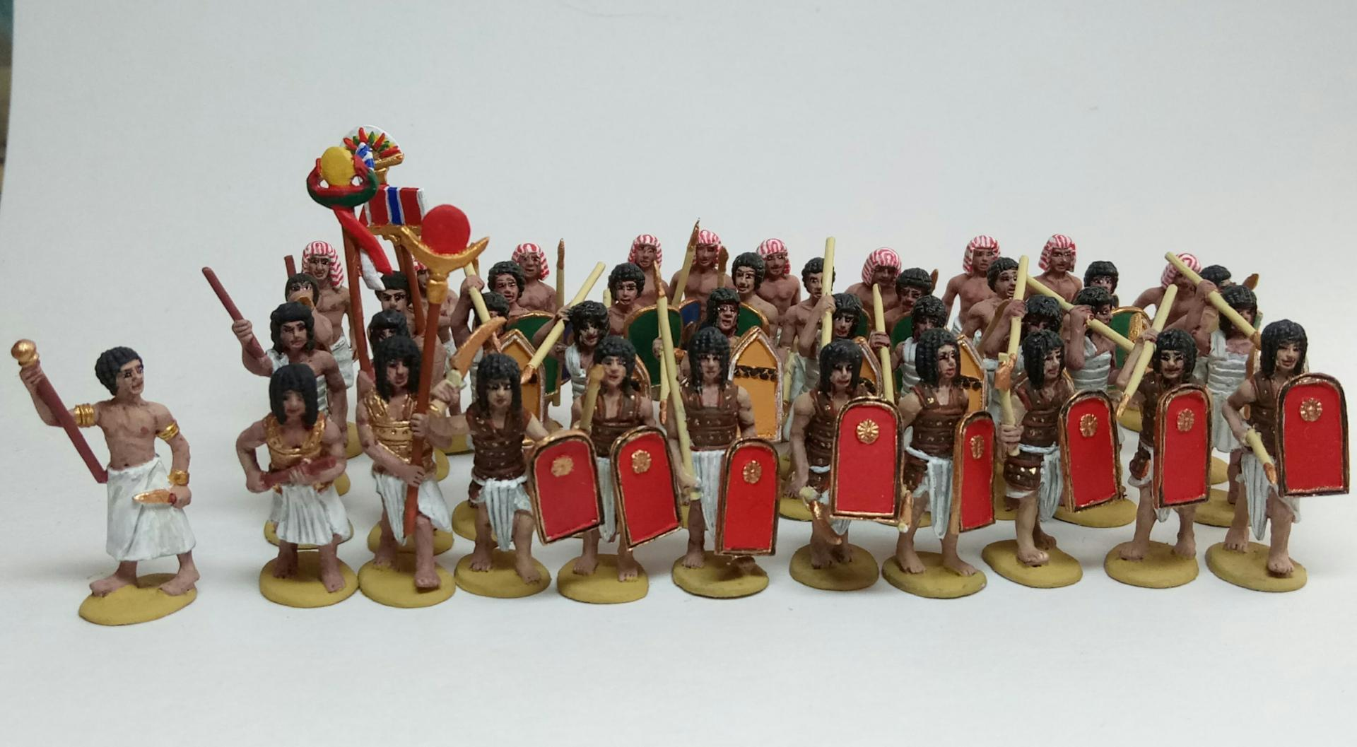 Armée egyptienne antique 1/72