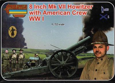 A002 - 8 Inch Mk VII Howitzer 1/72