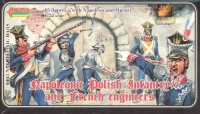 003 - Polish Infantry & French Engineers 1/72