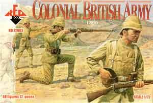 72003 - Colonial British Army 1890 1/72