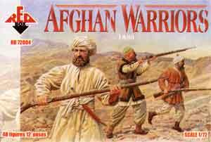 72004 - Afghan Warriors 1/72