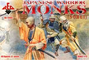 72005 - Japanese Warrior Monks 1/72
