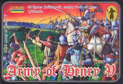 006 - Army of Henry V 1/72