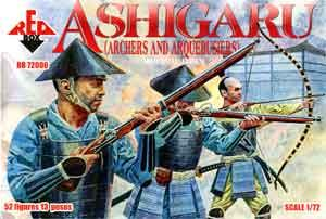 72006 - Ashigaru (Archers and Arquebusiers) 1/72