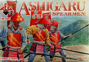 72007 - Ashigaru (Spearmen) 1/72