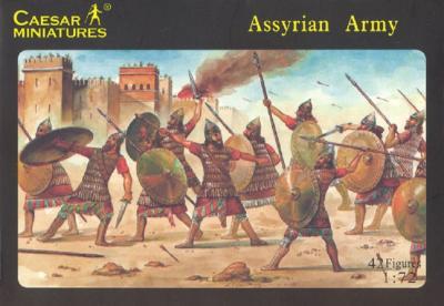 007 - Assyrian Army 1/72