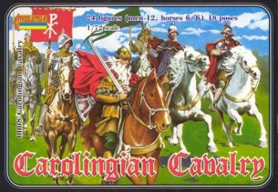 008 - Carolingian Cavalry 1/72