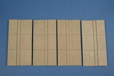 ML80304 - Dock baseplate 2 pcs 1/72