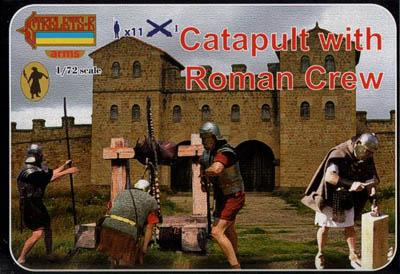 A009 - Catapult with Roman Crew 1/72