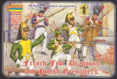 009 - French Foot Dragoons and Polish Grenadiers 1/72