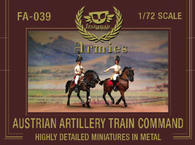FA-039 - Austrian Train Artillery Command 1/72