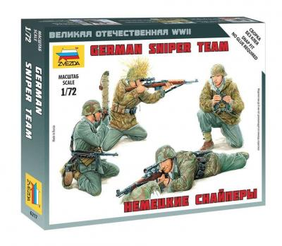6217 - German Sniper Team 1/72