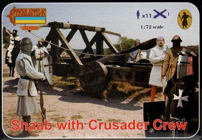 A010 - Shaab with Crusader Crew 1/72