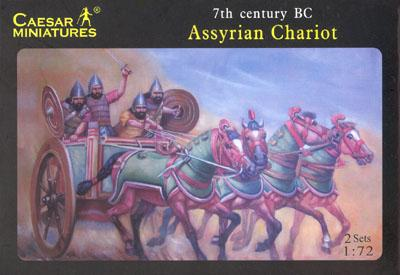 011 - Assyrian Chariot 1/72