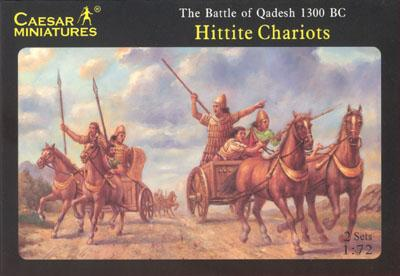 012 - Hittite Chariots 1/72