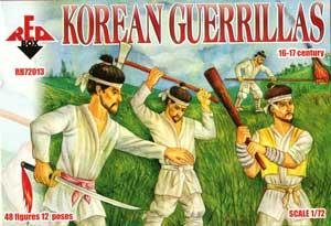 72013 - Korean Guerrillas 1/72