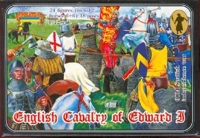 014 - English Cavalry of Edward I 1/72