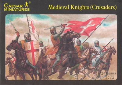 017 - Medieval Knights (Crusaders) 1/72