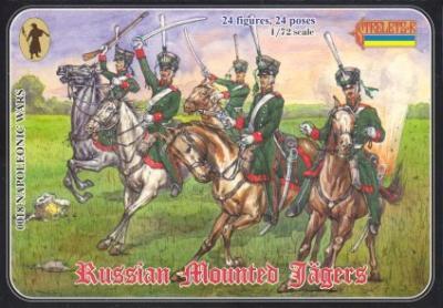018 - Napoleonic Russian Mounted Jägers 1/72