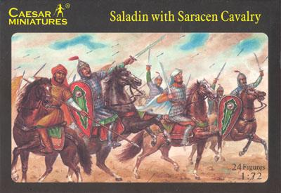 018 - Saladin with Saracen Cavalry 1/72