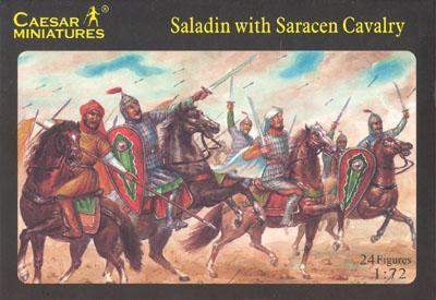 018 - Saladin with Saracen Cavalry 1/72