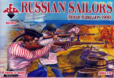 72019 - Russian Sailors 1/72