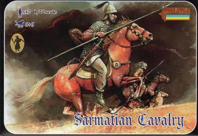 020 - Sarmatian Cavalry 1/72