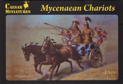 021 - Mycenaean Chariot 1/72
