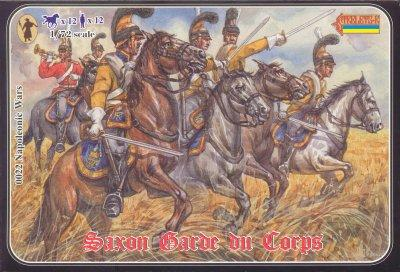 022 - Saxon Garde du Corps 1/72