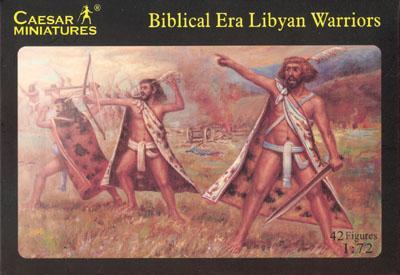 022 - Biblical Era Libyan Warriors 1/72