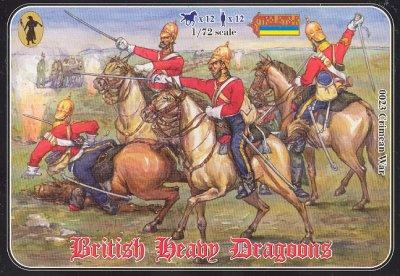 023 - British Heavy Dragoons 1/72